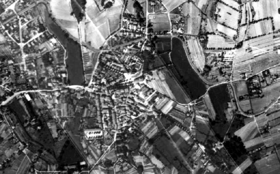 photo aerienne de Chateau-Gombert en 1950